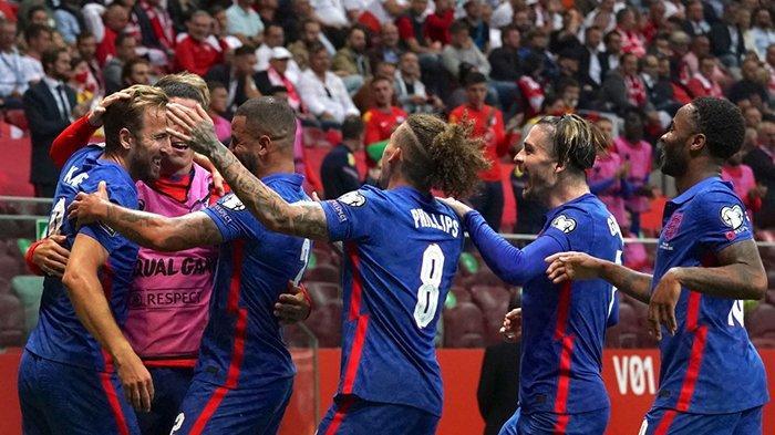 Hasil Polandia vs Inggris, Gol Indah Harry Kane Dibalas Gol Injury Time Szymanski, Inggris Imbang