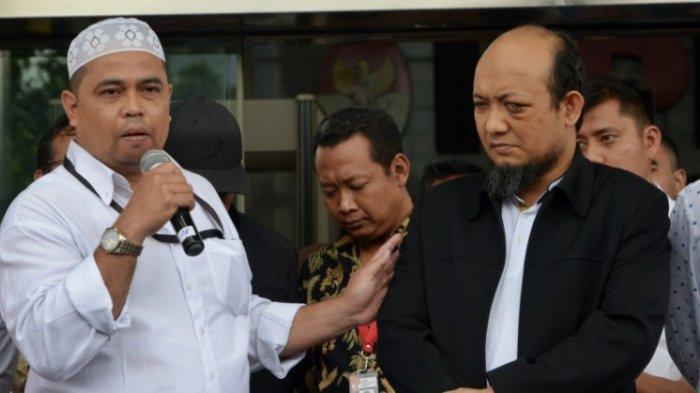 OTT KPK - Operasi tangkap tangan (OTT) Komisi Pemberantasan Korupsi (KPK) yang menjaring Bupati Nganjuk Rahman Hidayat dipimpin oleh Harun Al Rasyid. FOTO: HARUN AL RASYID (KIRI)