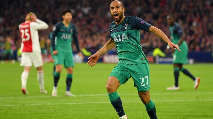 Hasil Akhir Ajax vs Tottenham Hotspur, Hattrick Lucas Moura Bawa Spur ke Final Liga Champions