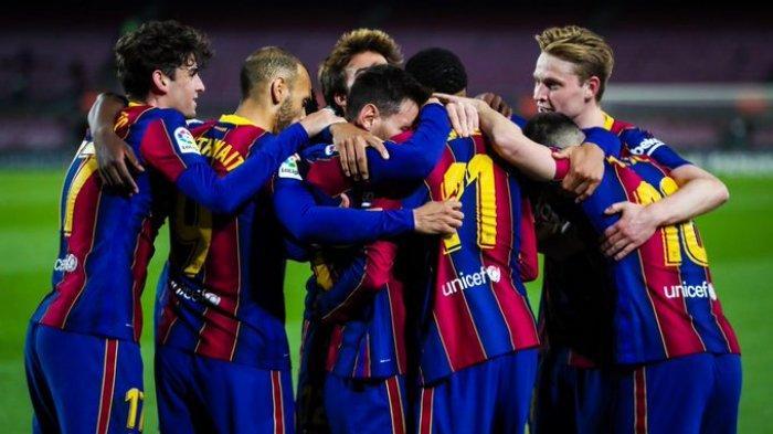 Hasil, Klasemen, Top Skor Liga Spanyol, Barcelona Menang, Madrid Tergeser, Lionel Messi 23 Gol