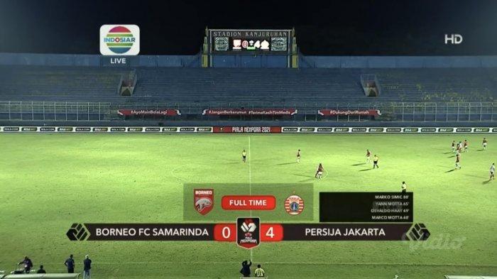 Hasil, Klasemen, Top Skor Piala Menpora 2021 Setelah PSM Imbang, Persija Menang, Yakob Sayuri 2 Gol
