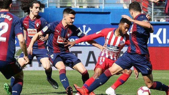 Hasil Akhir Eibar vs Atletico Madrid, Gol Tunggal Thomas Lemar Bawa Kemenangan Los Colchoneros