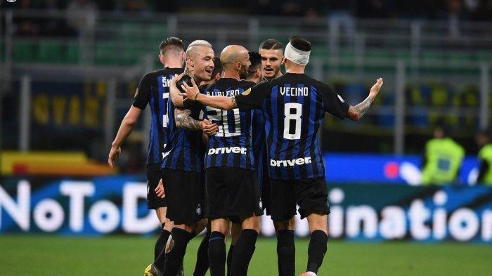Hasil Inter Milan vs Slavia Praha Liga Champions 2019/2020, Skor Imbang di Babak Pertama