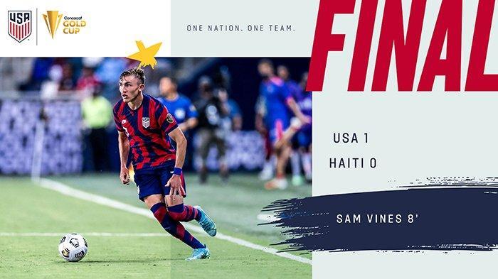 Hasil, Klasemen, Top Skor Gold Cup 2021 Setelah Meksiko Imbang, Amerika Serikat Menang