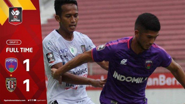 Hasil Piala Menpora 2021 Persita vs Bali United Berakhir Imbang, Bali United Lolos ke Perempat Final