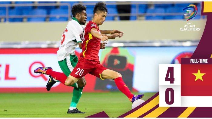 Hasil & Klasemen Grup Kualifikasi Piala Dunia 2020 Zona Asia Setelah Indonesia Kalah, Thailand Kalah