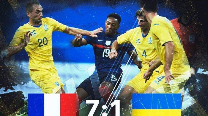 Penyebab Ukraina Kalah 1-7 vs Prancis, 3 Kiper Positif Covid-19, Shevchenko Panggil Asisten Pelatih