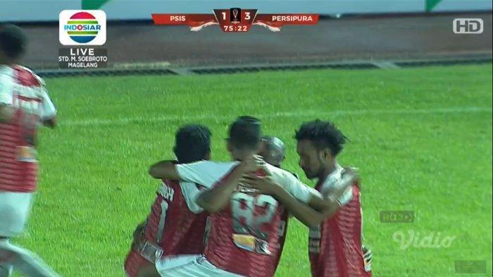 Hasil Akhir PSIS Semarang vs Persipura Jayapura Piala Presiden 2019 - Mahesa Jenar Takluk 1-3