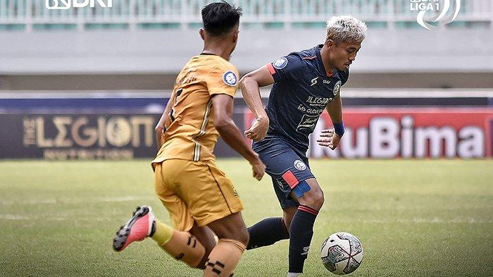 Hasil Liga 1 2021 Arema FC vs Bhayangkara FC, Babak I Berakhir dengan Skor 0-0