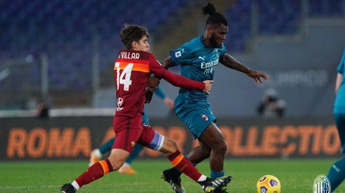 Hasil Liga Italia - Permalukan AS Roma, AC Milan Tempel Inter Milan di Puncak Klasemen