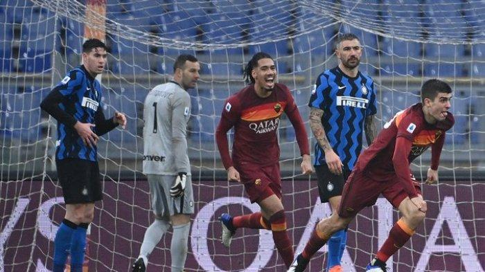 SEDANG BERLANGSUNG Live Streaming Inter Milan vs AS Roma, Kick Off 01.45 WIB via TV Online