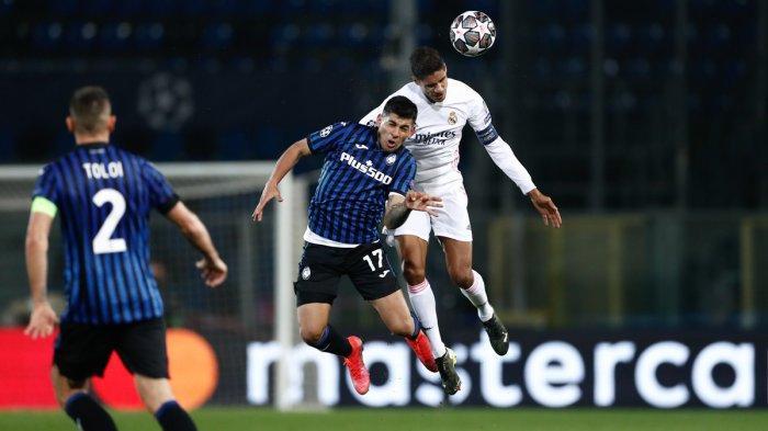 Hasil Liga Champions - Lawan 10 Pemain Atalanta, Real Madrid Menang Tipis 1-0