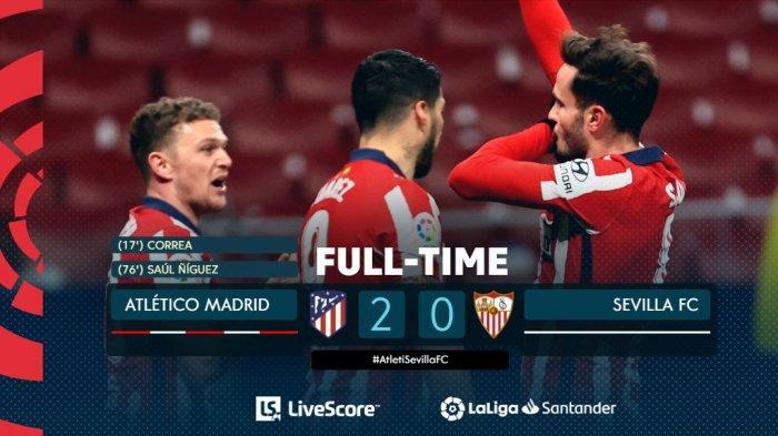 Hasil, Klasemen, Top Skor Liga Spanyol Setelah Atletico Madrid Menang, Lionel Messi 11 Gol
