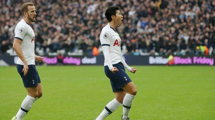 Hasil Babak Pertama West Ham vs Tottenham Hotspur, Spurs Unggul Lewat Gol Son dan Lucas Moura