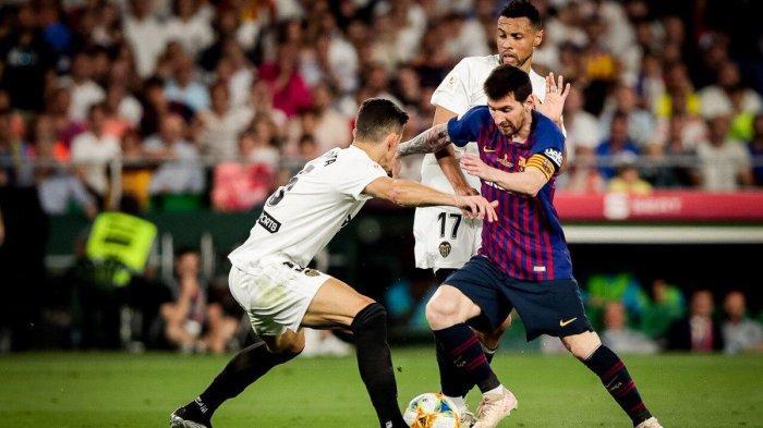 Prediksi Susunan Pemain Barcelona vs Inter Milan Liga Champions 2019, Adu Tajam Messi & Alexis