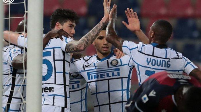 Hasil Liga Italia - Bungkam Bologna 0-1, Inter Milan Semakin Menjauh dari AC Milan dan Juventus