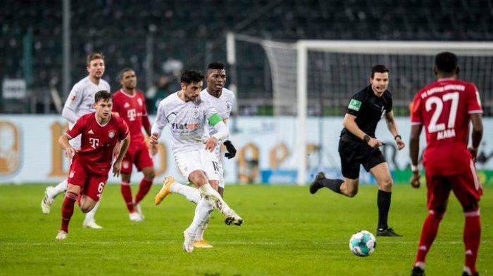 Hasil Bundesliga - Comeback! Moenchengladbach Bungkam Munchen 3-2, Jonas Hoffman Dua Gol