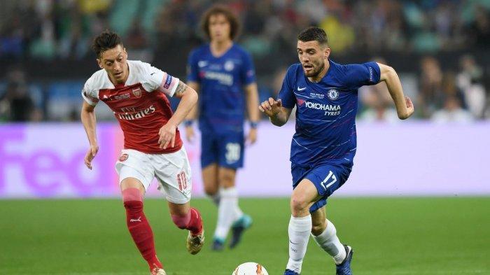 Hasil Chelsea vs Arsenal Final Liga Europa - Saling Ciptakan Peluang, Skor Imbang di Babak Pertama
