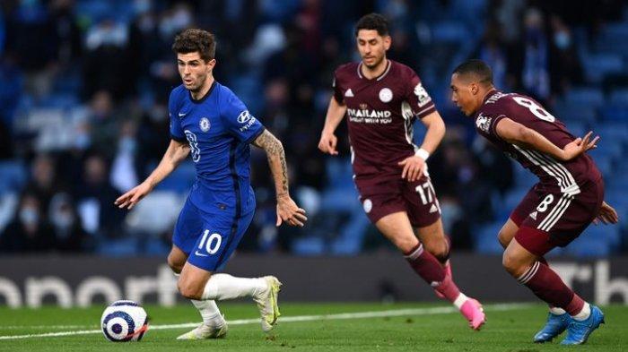 Hasil Liga Inggris - Timo Werner Apes Dua Kali, Chelsea Tumbangkan Leicester City 2-1