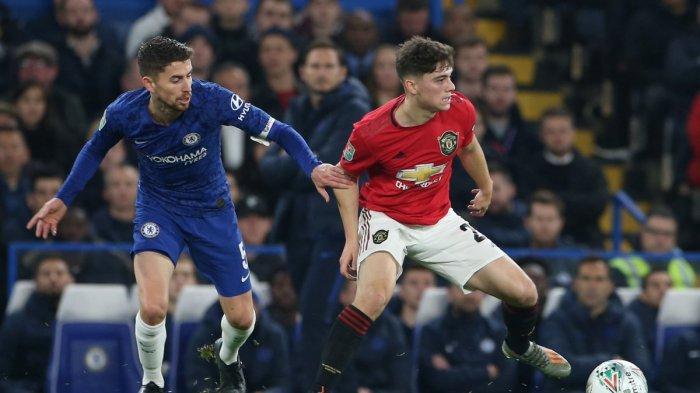 Hasil Chelsea vs Manchester United Carabao Cup 2019, Gol Rashford Bawa MU Unggul di Babak Pertama