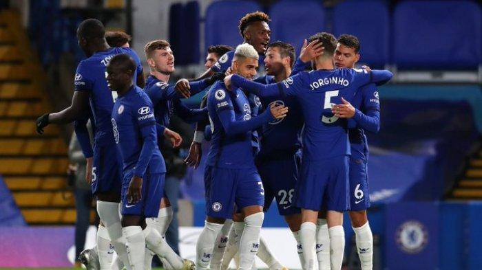 Hasil Liga Inggris - Chelsea 3-0 West Ham, Tammy Abraham Brace, The Blues Akhiri Tren Negatif