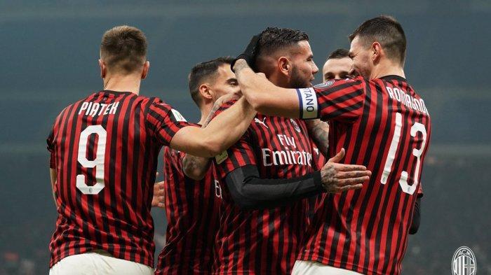Hasil Coppa Italia - AC Milan Bungkam SPAL Tiga Gol Tanpa Balas, Piatek Cetak Gol