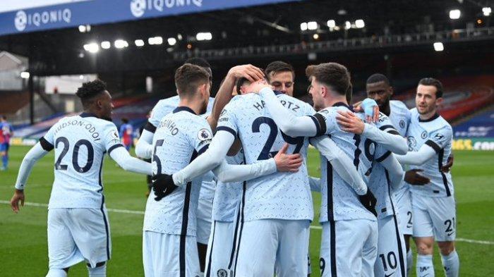 Hasil Liga Inggris - Chelsea Pesta Gol ke Gawang Crystal Palace, Kai Havertz Akhiri Puasa Gol