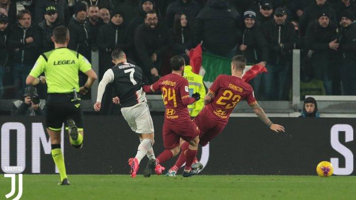 Hasil dan Skor Akhir Juventus vs AS Roma di Coppa Italia 2020, Nyonya Tua Tekuk AS Roma 3-1