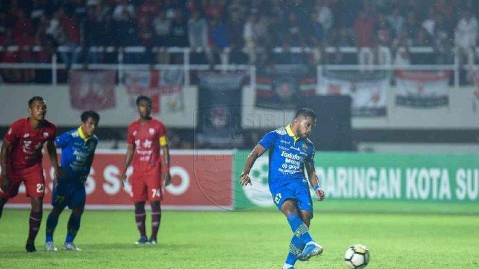 Hasil dan Skor Akhir Persis vs Persib Bandung, Maung Bandung Tekuk Laskar Samber Nyawa 2-0