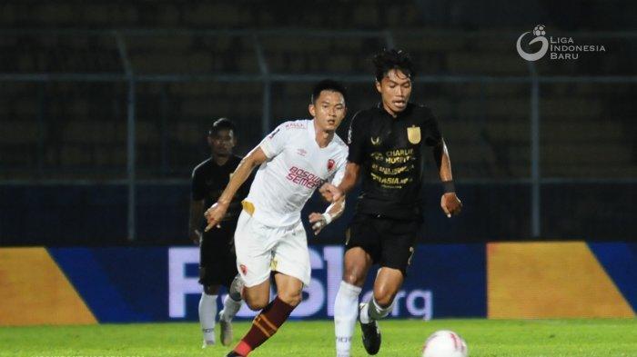 PSM Makassar saat menumbangkan PSIS Semarang melalui babak adu penaltidi Stadion Kanjuruhan, Malang, pada Jumat (9/4/2021). Dalam drama adu penalti Juku Eja mengungguli tim Mahesa Jenar dengan skor 4-2.