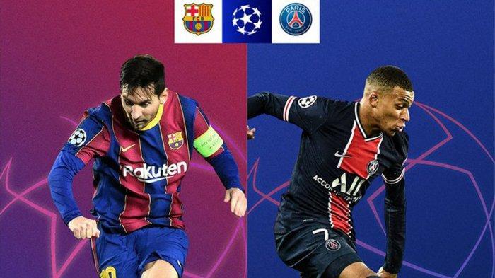 Jadwal Babak 16 Besar Liga Champions 2020/2021, Lionel Messi Jamu Neymar 17 Februari 2021