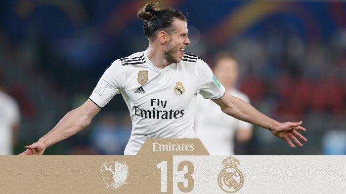 Hasil FIFA Club World Cup 2018 Kashima Antlers vs Real Madrid - Gareth Bale Hattrick Madrid ke Final