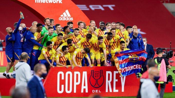 Hasil Athletic Bilbao vs Barcelona, Lionel Messi Cetak 2 Gol, Barcelona Juara Copa Del Rey