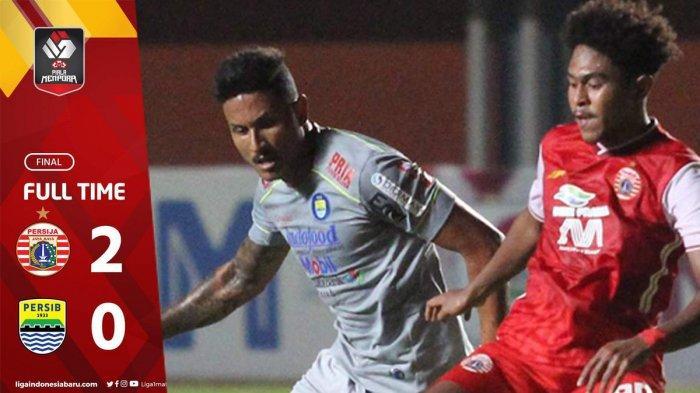 Persib Kalah Lawan Persija di Leg 1 Final Piala Menpora 2021, Robert: Pertahanan Persija Bagus