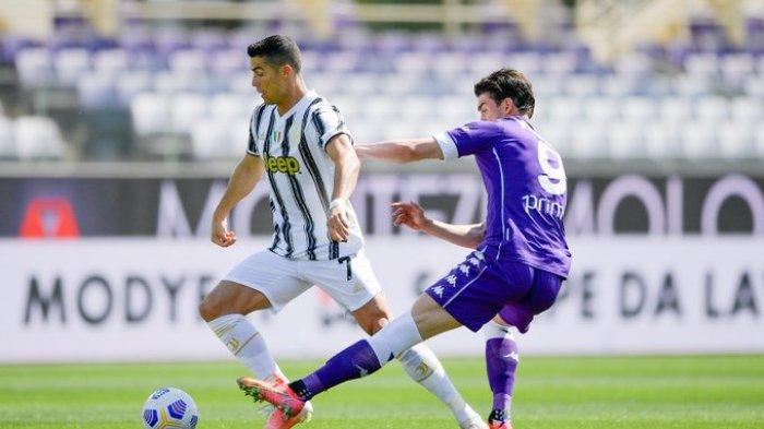 Hasil Liga Italia - Cristiano Ronaldo Puasa Gol 257 Menit, Juventus Tahan Imbang Fiorentina