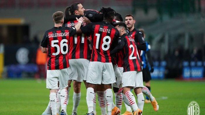 Ibrahimovic Genapkan Rekor 500 Gol, Bersama Ante Rebic Puncak Klasemen Kembali ke AC Milan