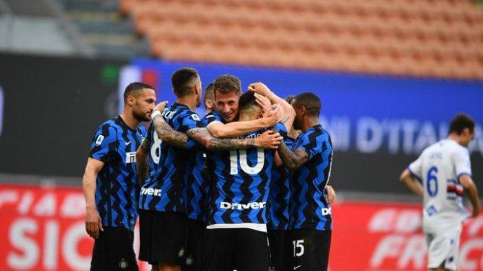 Hasil Liga Italia - Inter Milan Pesta Gol ke Gawang Sampdoria, Alexis Sanchez Cetak Brace