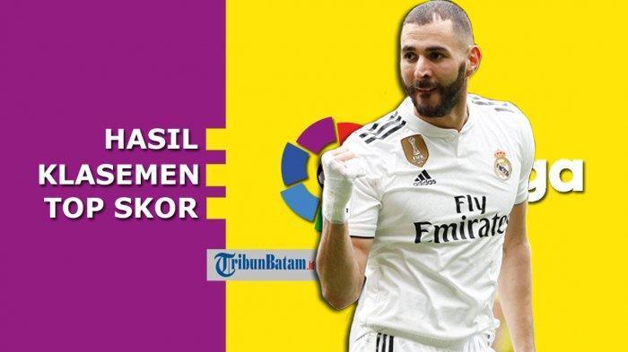 Klasemen La Liga Spanyol Setelah Barcelona dan Real Madrid Pesta 5 Gol di Pekan ke 11