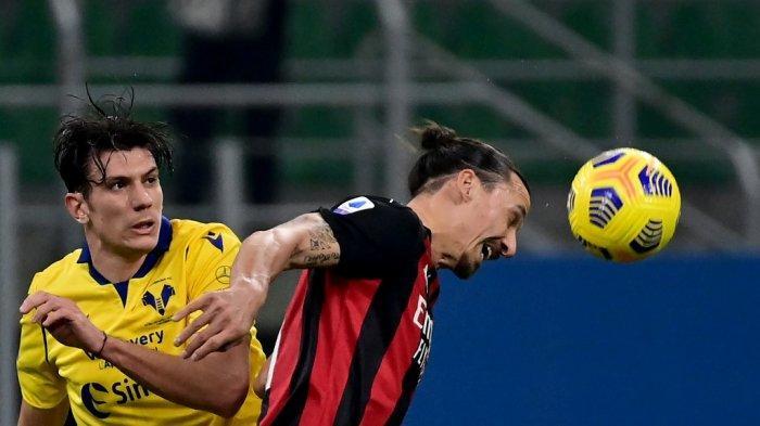 AC Milan vs Crotone, Kesempatan Ibrahimovic Genapkan Rekor 500 Gol Malam Ini, Pukul 21.00 WIB
