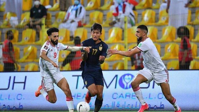 Hasil Kualifikasi Piala Dunia 2022 - UEA Hajar Thailand, Vietnam Belum Terkalahkan