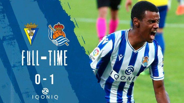 Hasil, Klasemen, Top Skor Liga Spanyol Real Sociedad 1, Real Madrid 4, Barcelona 12, Oyarzabal 6 Gol