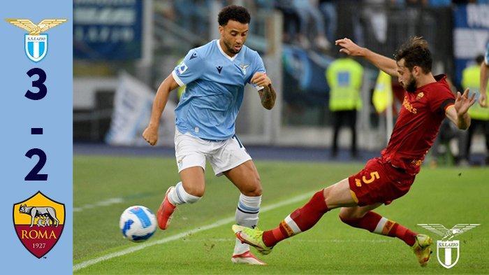Hasil Lazio vs AS Roma, Drama 5 Gol di Derby della Capitale, AS Roma Kalah