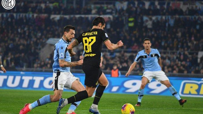Hasil Lazio vs Inter Milan di Liga Italia, Gol Ashley Young Bawa Inter Unggul di Babak Pertama