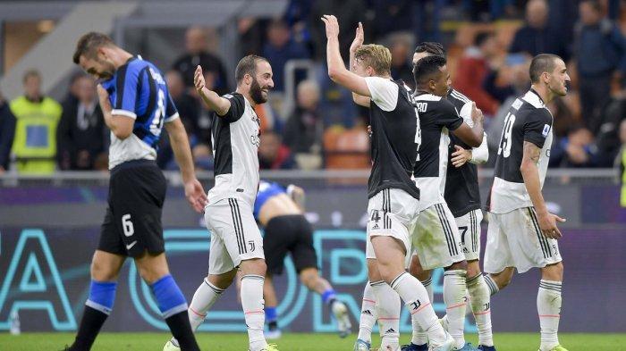 Jadwal Liga Italia Malam Ini, Bigmatch Lazio vs Inter Milan, Juventus vs Brescia