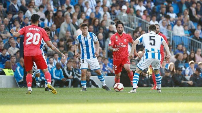 Hasil Lengkap & Klasemen Liga Spanyol, Real Madrid Takluk Atas Sociedad, Barcelona Pimpin Klasemen