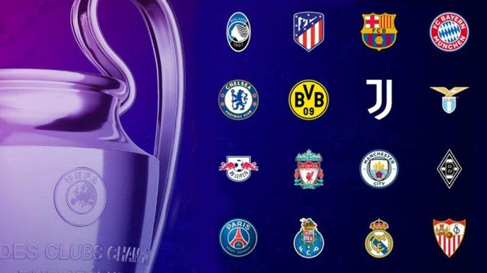 Jadwal Drawing Babak 16 Besar Liga Champions 2020/2021, Berlangsung Mulai Februari 2021