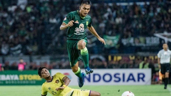 Hasil Liga 1 2020 Persebaya vs Persik, Diwarnai Penalti, Bajul Ijo Tahan Imbang Tim Promosi