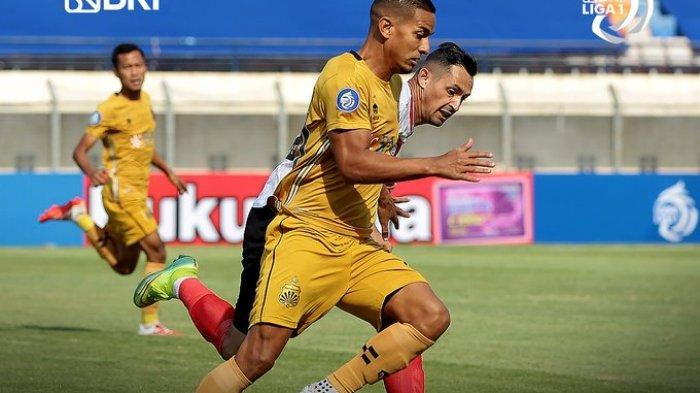 Hasil Liga 1 2021 - Gol Eks Pemain Persib Bawa Kemenangan Bhayangkara FC atas Madura United