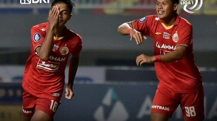 Hasil Liga 1 2021 - Bungkam Persela Lamongan 2-1, Persija Raih Kemenangan Perdana