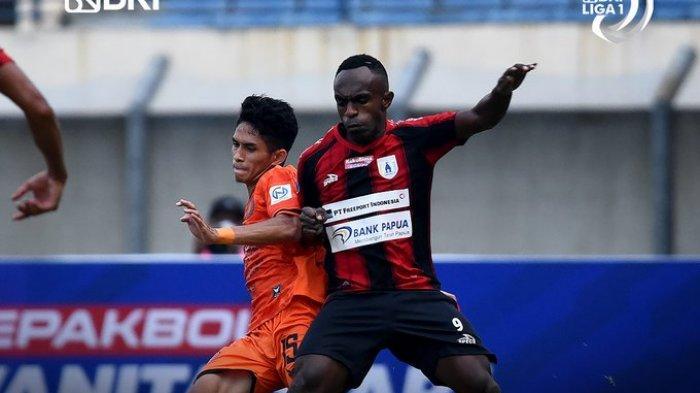 Hasil Liga 1 2021 - Kalahkan Persiraja 2-1, Persipura Raih Kemenangan Perdana